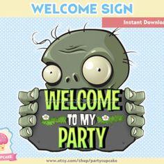 Resultado de imagen para cumplea os tematico de plants vs for Table zombies pdf