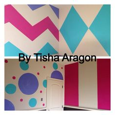 Painted Fun colorful walls