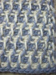 tunisian crochet - pattern stitch symbols