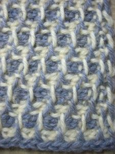 Tunisian crochet ♥ pattern stitch symbols