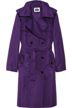 Trench Coat | ... > Jackets > Casual jackets > Double-breasted sateen trench coat