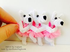 dancing pipe cleaner dogs