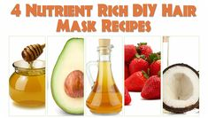 4 Nutrient Rich DIY Hair Mask Recipes Designed To Give Your Hair Moisture And Strength  Read the article here - http://www.blackhairinformation.com/hair-care-2/hair-treatments-and-recipes/4-nutrient-rich-diy-hair-mask-recipes-designed-give-hair-moisture-strength/