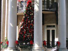 Christmas in Savannah.