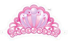 Corona para Barbie Princesa para Imprimir Gratis.