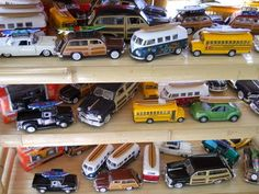 Jeff's vintage matchbox cars collection