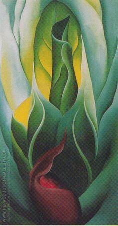 Georgia O'Keeffe, Cabbage 1928