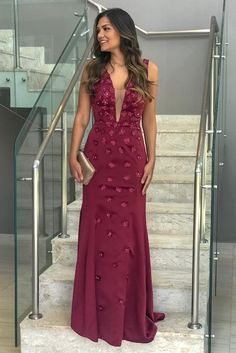 Vestido marsala: 70 modelos para você arrasar com a cor que é tendência Verde Tiffany, Pineapple Images, Bridesmaid Dresses, Prom Dresses, Diets For Women, Glamour, Kids Diet, Happy Women, Healthy Summer