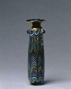 Perfume Bottle (Alabastron), c. 325-275 BC                                                Italy or Eastern Mediterranean, Etruscan, 4th-3rd Century BC