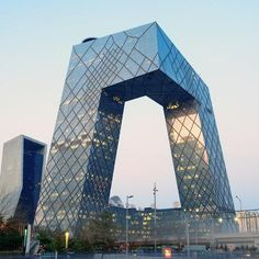 """Chinese architecture will benefit"" from CCTV building, says Rem Koolhaas: http://www.dezeen.com/2014/11/26/rem-koolhaas-defends-cctv-building-beijing-china-architecture/ … #architecture"