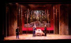 Chamberlain. Maine State Music Theatre. Scenic design by Robert Kliingelhoefer. 2014