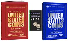 There are several coin price guides made by different companies, but I mostly use the Red Book and the Black Book. Here are some tips for choosing the right price guide for you coin collection.