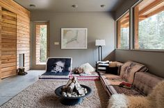 Designed by Modern Dwellings, this family cottage is located in Simcoe, Ontario, Canada. Description by Modern Dwellings This family cottage was in need of a rebuild as well as needing an ecologica...