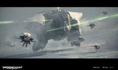 ArtStation - DREADNOUGHT - Medium Tactical Cruiser - Feronia - Tier V, Michael Oberschneider