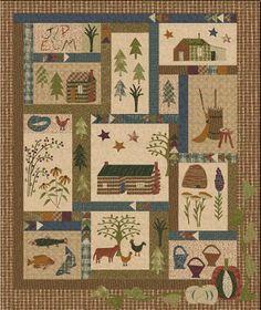 jan patek myustery quilt | Jan Patek Quilts: Across the Wide Missouri