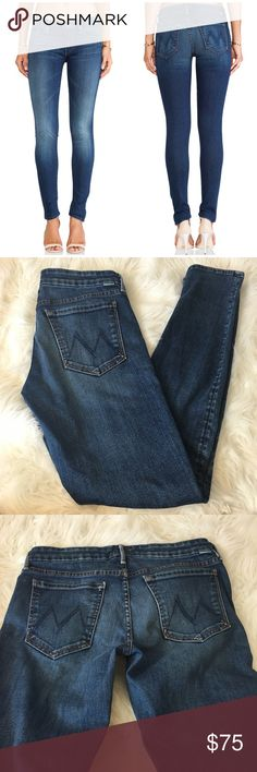 CCO🇺🇸Mother The Looker Medium Wash Skinny Jeans Super cute and a perfect wardrobe staple! Excellent pre owned condition. Size 30. Inseam 30 inches. Medium distressed wash. No trades!! 05141750gwb MOTHER Jeans Skinny