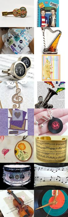 Musical by Clare Bambers on Etsy--Pinned with TreasuryPin.com