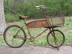 rusty bicycle