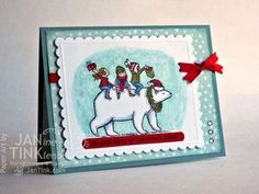 Janine Tinklenberg: Stamps, Paper, Scissors: Bearing Gifts - 8/14/14