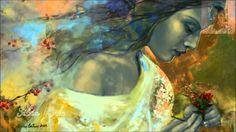Fantasy Painting - Poem At Twilight by Dorina Costras Fine Art Amerika, Goddess Art, Cool Artwork, Amazing Artwork, Awesome Art, Figurative Art, Oeuvre D'art, Art Images, Saatchi Art
