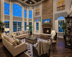 Toll Brothers - The Elkton Family Room
