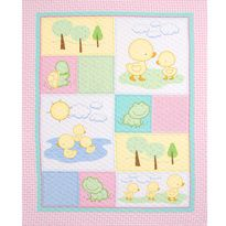 Children's Prints - Baby Quilt Project Panel on Cotton Fabric