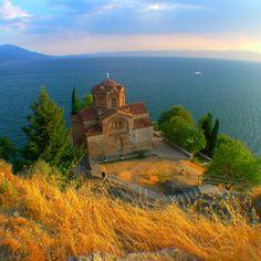 St John at Kaneo, Ohrid, Macedonia