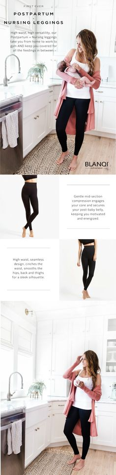Highest highwaist, dream-come-true leggings!  ?  Say goodbye to leggings digging into your sides. ?  Say goodbye to seams chafing and aggravating C-section scars?  Say goodbye to pesky discomfort ? ? Say hello to superior seamless comfort and style with our first ever on the market Highwaist Postpartum + Nursing Support Leggings.