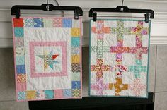 I want to make mini quilts :(  I wish I had the time!!!