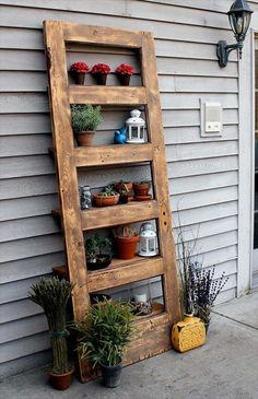 #Recycling Old Wooden Doors and Windows for Home #Decor and garden