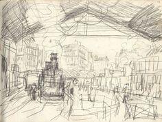 Claude Monet.Gare Saint Lazare