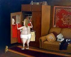 Ироничный соц-наив от художника Валентина Губарева.