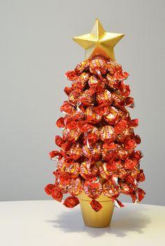 Karkkikuusi ohje Christmas Candy, Christmas Baking, Christmas Sweaters, Christmas Crafts, Merry Christmas, Christmas Decorations, Holiday Decor, Candy Art, Diy Presents