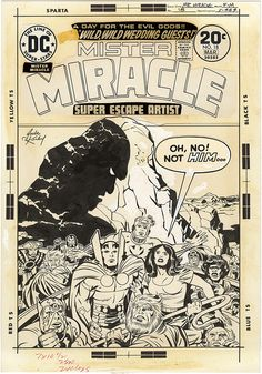 Mister Miracle, Issue 18, Cover