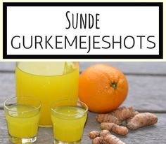 Det er SÅ nemt at lave de her sunde gurkemejeshots, som kun indeholder naturligt frugtsukker fra appelsinen.