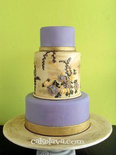 cakelava: Leah and Sean's Wedding Cake