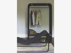 ELICO BLACKS Rattan Black rattan clothes rail - HabitatUK