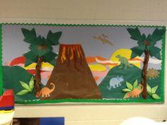 2014 bulletin board -dinosaurs