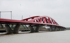 Hanzeboog Bridge, Zwolle.