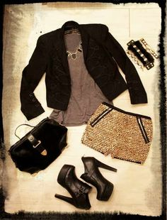 Glamour/Edgy Outfit