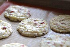 Orange Cranberry Crinkle Cookies   Lauren's Latest
