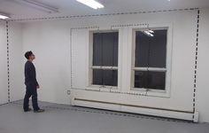 """Instalação que dá a impressão de que o espaço recebeu um """"Ctrl + C"""" """"Ctrl + V"""""""