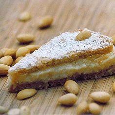 Gefüllter Mandelkuchen Rezept - Gustini