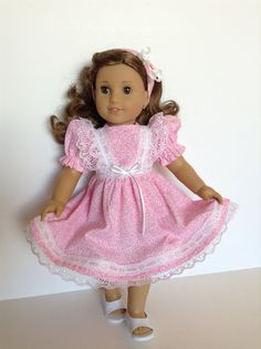 American Girl 18inch Doll Clothes  Pink Floral by HFDollBoutique, $22.00