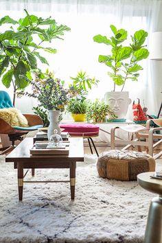 Beni Ourain Moroccan rugs; shopping guide via TISLstyle