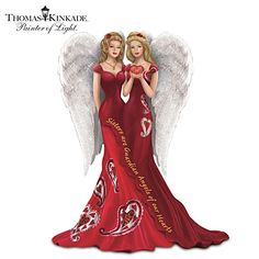 Sisters Are Guardian Angels Of Our Hearts Figurine