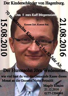 Die Dreiländerecke Betrugs Plan von die Kinderschänder in Hagenburg (Die Geschwister Wittkugel )) : 28.09.2016An Der Hurensohn , 5€ Wert , Kaff Bürger...