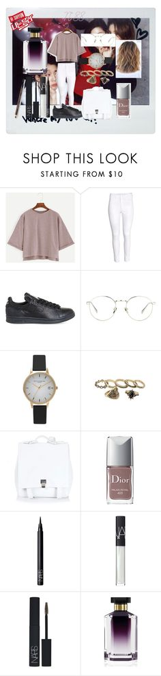 """N°88"" by marlinda212 ❤ liked on Polyvore featuring H&M, adidas, Linda Farrow, Olivia Burton, Proenza Schouler, Christian Dior, NARS Cosmetics and STELLA McCARTNEY"