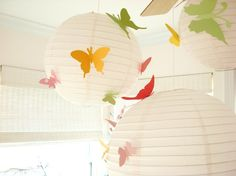 butterfly ceiling | ... ceiling. Their great texture is like a flower bouquet in the sky
