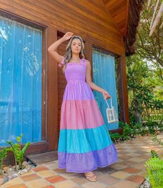 Looks Chic, Casual Looks, Western Outfits, Fashion Outfits, Womens Fashion, Color Trends, Outfits For Teens, Chiffon Dress, Gowns